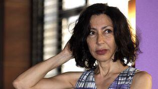 Yasmina Reza au festival de Cannes en 2011. (FRÉDÉRIC DUGIT / MAXPPP)