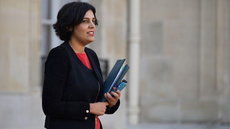Myriam El Khomri, la ministre du Travail, le 7 décembre 2016 à l'Elysée, à Paris. (ERIC FEFERBERG / AFP)