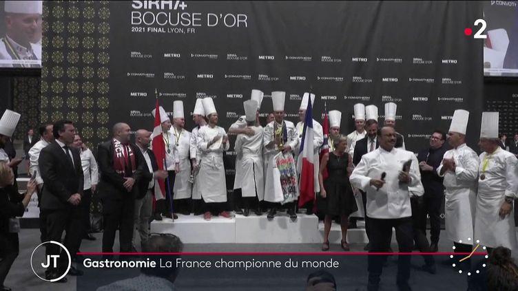 Les gagnants du Bocuse d'Or. (France 2)
