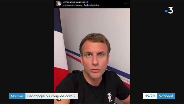 Vaccin contre le Covid-19 : Emmanuel Macron cible les jeunes depuis Brégançon