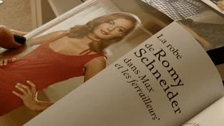 Le livre propose les patrons de douze tenues mythiques du cinéma français.  (France Télévisions)