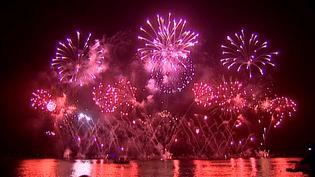 Final français pour le festival pyrotechnique de Cannes 2015  (France 3 / Culturebox)