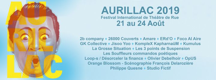 18 compagnies composent la sélection officielle 2019 (DR / Festival d'Aurillac)