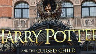 """La Palace Theatre à Londres se prépare à accueillir les répétitions de """"Harry Potter et l'enfant maudit"""" (""""Harry Potter and the cursed child"""").  (Matthew Chattle/Shutter/SIPA)"""