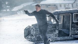 """Image de """"Spectre"""", le dernier James Bond, en avant-première à Londres (Royaume-Uni) le 26 octobre 2015. (SONY PICTURES)"""
