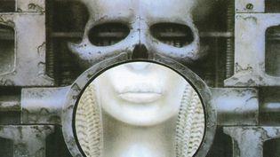 Détail de la pochette de Emerson, Lake & Palmer signée H.R Giger.  (H.R.Giger)