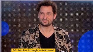 Éric Antoine (Capture d'écran franceinfo)
