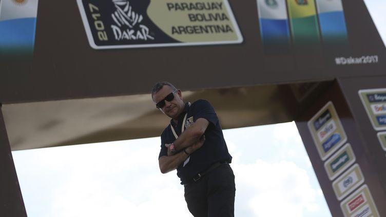 Le patron du Dakar Etienne Lavigne (DAVID FERN?NDEZ / EFE)