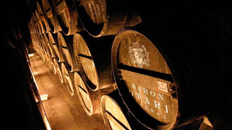 En 2013, plus de 160 millions de bouteilles de cognac ont été expédiées à travers le monde. (MAXPPP)