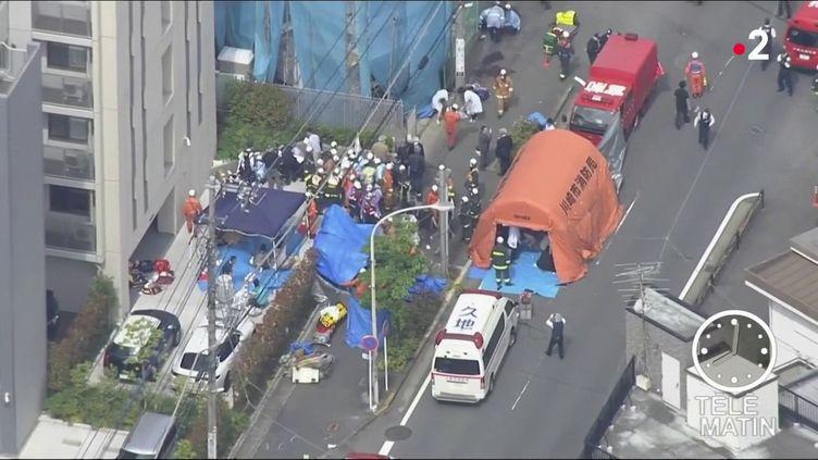 Le lieu de l'attaque au couteau au Japon mardi 28 mai (France 2)