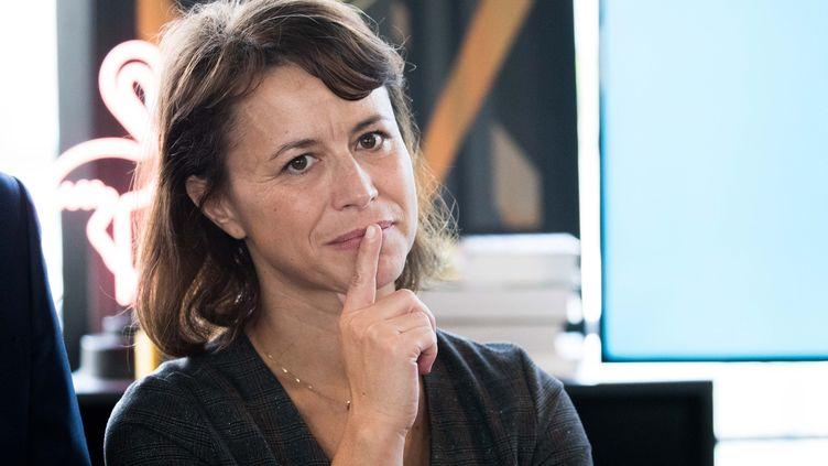 Delphine Bürkli, maire du 9e arrondissement de Paris, le 17 octobre 2017. (CHRISTOPHE MORIN / MAXPPP)