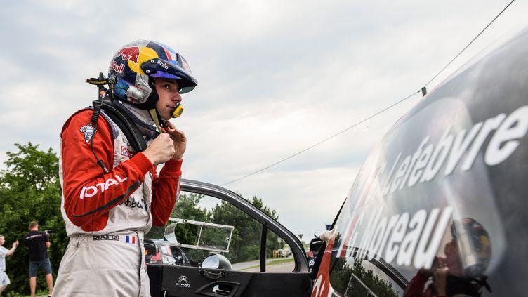 Stéphane Lefebvre et Guillaume Moreau rouleront pour Citroën en WRC (FRANCOIS BAUDIN / AUSTRAL)