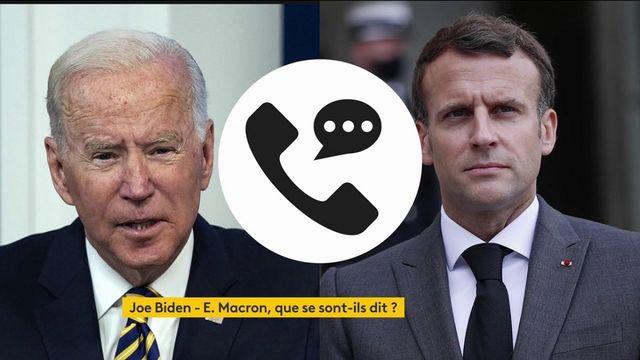Crise des sous-marins : l'échange Biden-Macron apaise les tensions entre les deux pays