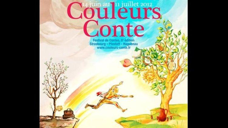 """Affiche de l'édition """"Couleurs Conte"""" 2012  (DR)"""