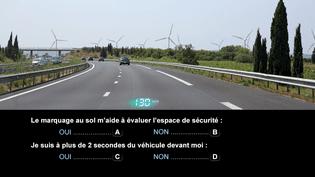 Question n°1 issue de la nouvelle banque de données pour l'examen du code de la route (Securité routière)