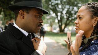 "David Oyelowo et Ava DuVernay sur le tournage de ""Selma""  (StudioCanal)"