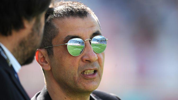 Mourad Boudjellal n'a jamais sa langue dans sa poche (JEAN-PIERRE CLATOT / AFP)