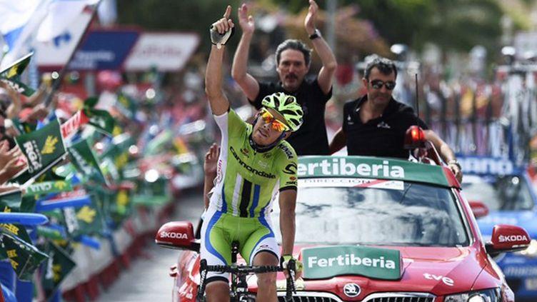 Alessandro De Marchi vainqueur de la 7e étape de la Vuelta (JOSE JORDAN / AFP)