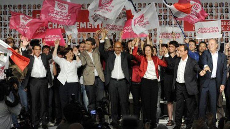 Les six candidats à la primaire socialiste (AFP)