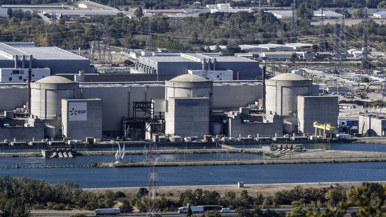 La centrale nucléaire de Tricastin, dans la Drôme, le 10 octobre 2017. (PHILIPPE DESMAZES / AFP)