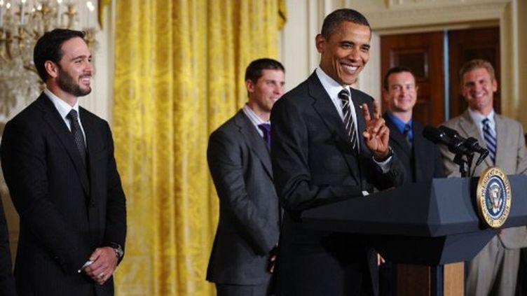 Le président des Etats-Unis, Barack Obama, à la Maison blanche le 7-9-2011 (AFP - Mandel NGAN)