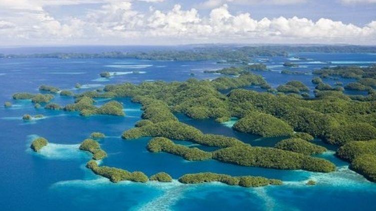 L'île de Palaos (Micronésie) (Reinhard Dirscherl)