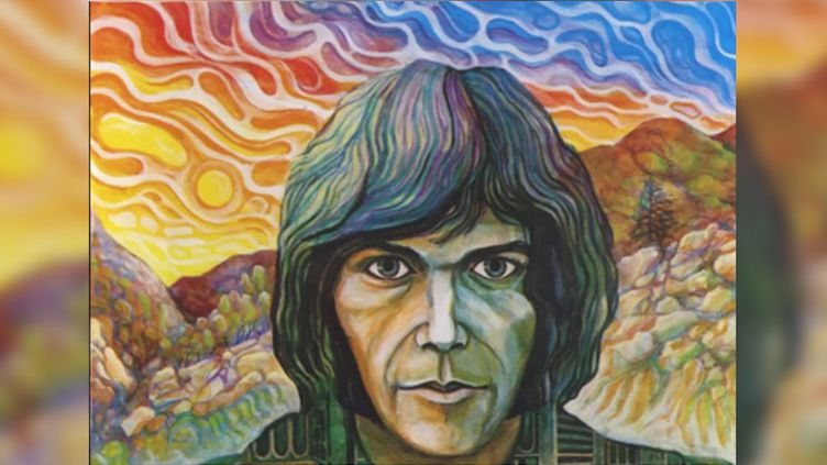 """Le 33 tours de Neil Young """"The Emperor of Wyoming"""". (Reprise Records)"""