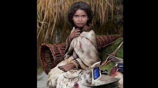 La découverte d'un chewing-gum vieux de 5700 ans a livré de l'ADN humain. Les scientifiques ont dressé le portrait de la jeune fille qui l'aurait mâché. (france 2)