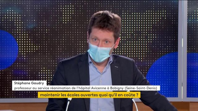 Covid : ITW Stéphane Gaudry
