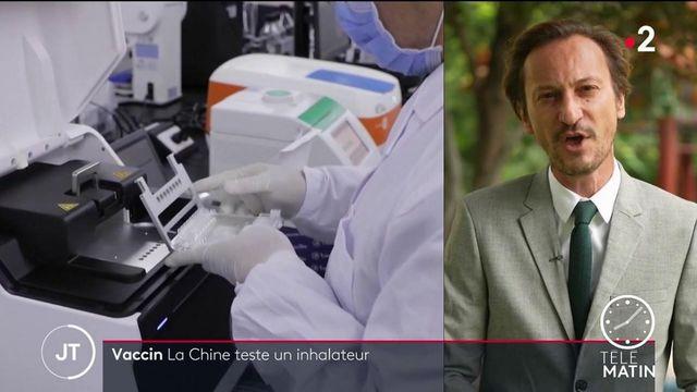 Chine : bientôt un vaccin contre le Covid-19 par inhalation ?