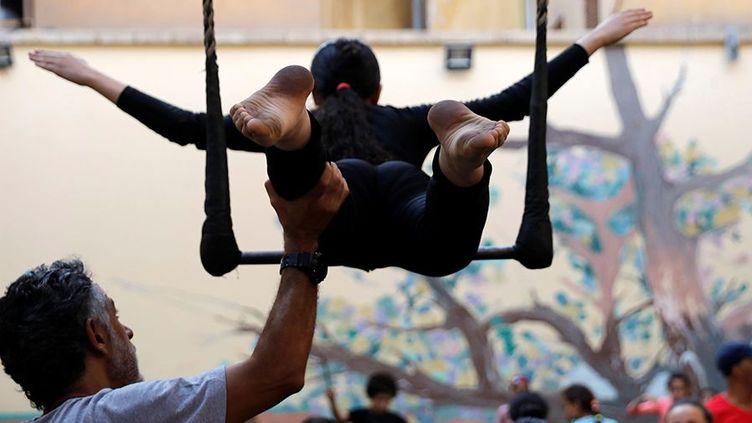 L'école d'Art d'al-Darb al-Ahmar. (Amr Abdallah Dalsh / REUTERS )