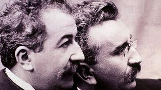Les frères Louis et Auguste Lumière  (WILFRIED LOUVET / ONLY FRANCE)