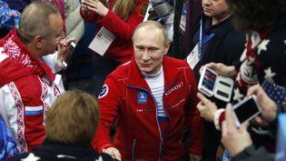 Vladimir Poutine, le 9 février 2014. (MAXPPP)