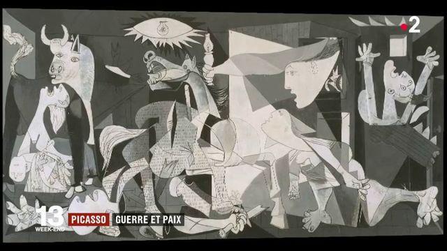 Exposition : les guerres du XXe siècle à travers les œuvres de Picasso