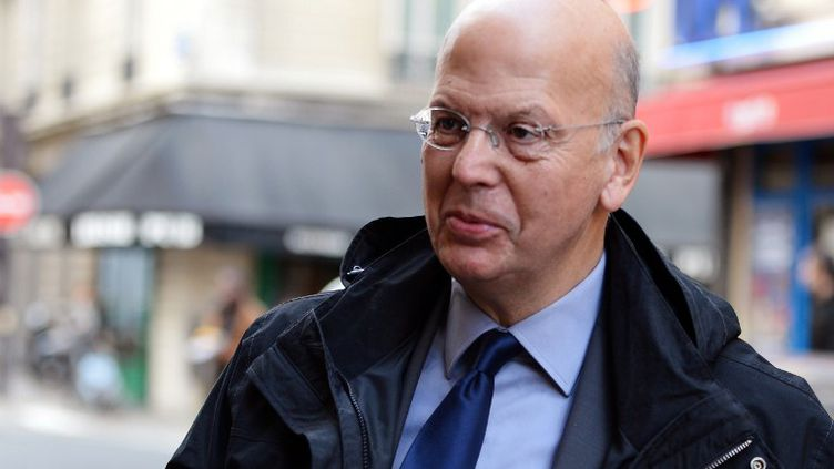 Patrick Buisson, ancien conseiller de Nicolas Sarkozy et directeur de la chaîne Histoire le 15 octobre 2012 à Paris. (MIGUEL MEDINA / AFP)