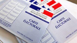 Dimanche 11 mai 2014, les électeurs de Nouvelle-Calédonie votent pour les élections provinciales. Un scrutin crucial pour l'avenir du territoire car il s'agit des dernières élections de l'accord de Nouméa (Photo d'illustration). (CITIZENSIDE / THIERRY THOREL / CITIZENSIDE.COM / AFP)