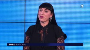 L'actrice espagnole Rossy de Palma sur le plateau du Soir 3. (FRANCE 3)