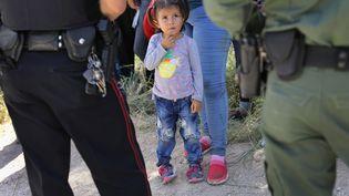Un de ces centres de rétention pour enfants au Texas, juin 2018. (JOHN MOORE / GETTY IMAGES NORTH AMERICA)