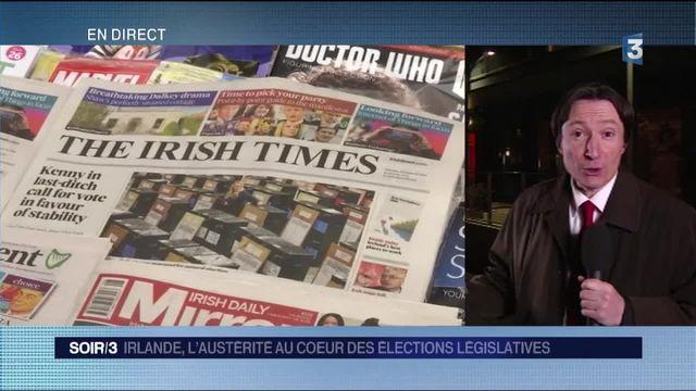 Irlande : les électeurs frappés par l'austérité sont prêts à punir leur Premier ministre