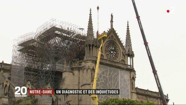 Notre-Dame : la cathédrale menacée par le vent inquiète
