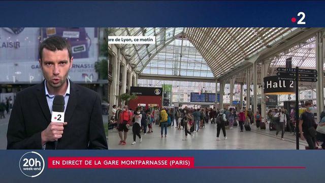 Vacances : un million de voyageurs attendus dans les gares