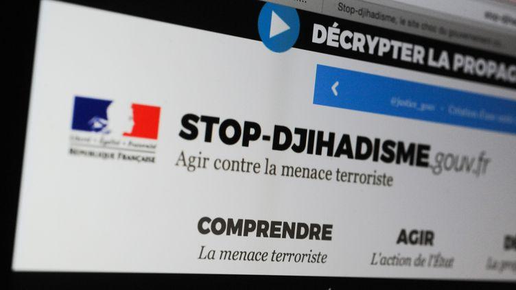 (Le site gouvernemental de lutte contre de djihadisme©MAXPPP)
