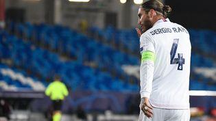 Sergio Ramos quitte le Real Madrid après 16 ans de bons et loyaux services. (PIERRE-PHILIPPE MARCOU / AFP)