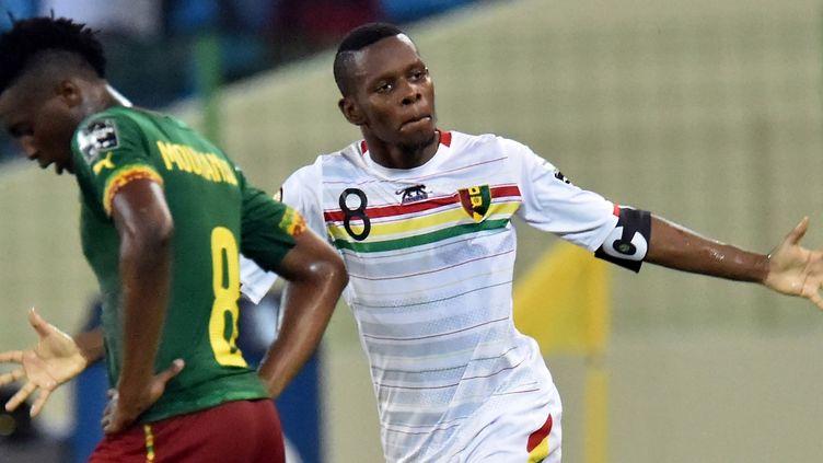 Le Guinéen Ibrahima Traoré (ISSOUF SANOGO / AFP)