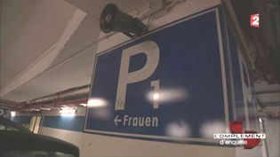 En Allemagne, des places de parking réservées aux femmes (FRANCE 2 / FRANCETV INFO)