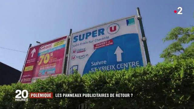 Bientôt le retour des panneaux publicitaires dans les villages ?