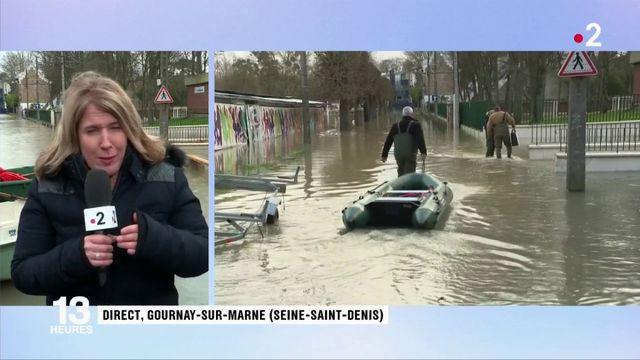Inondations en Seine-Saint-Denis : les habitants très inquiets face à la crue