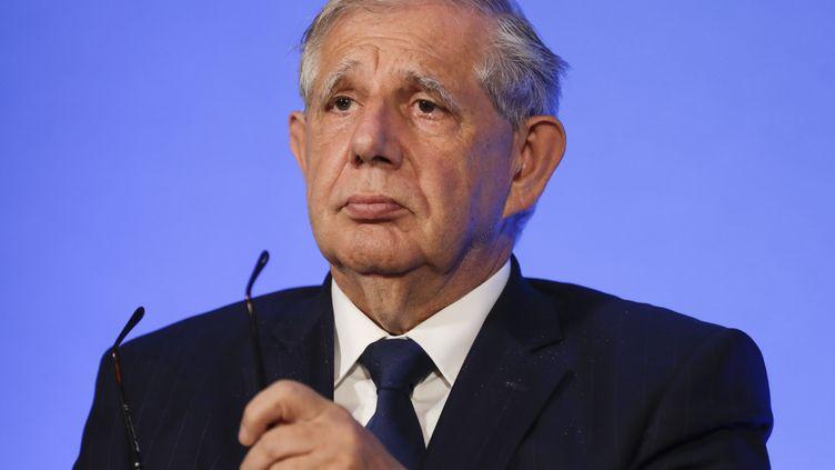 Le ministre de la Cohésion des territoires Jacques Mézard, le 12 juillet 2017 à Paris. (THOMAS SAMSON / AFP)