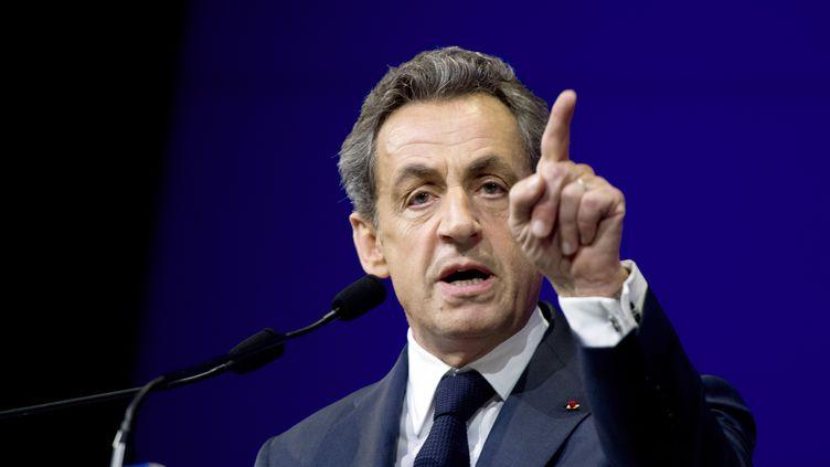 Le président de l'UMP Nicolas Sarkozy, le 7 février 2015, à Paris. (ALAIN JOCARD / AFP)