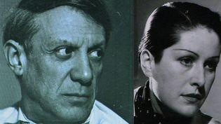 """""""Les Couples modernes"""" au Centre Pompidou Metz explore la passion créatrice ou subversives des couples d'artistes. Ici Pablo Picasso et Dora Maar.  (France 3 / Culturebox )"""